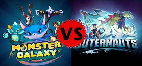 Monster Galaxy vs Outernauts