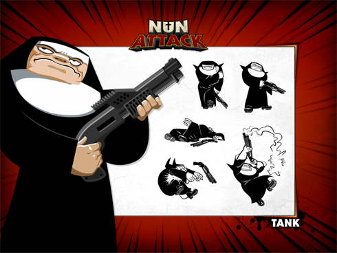 Nun Attack images