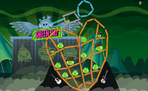 Angry Birds Friends Green Day