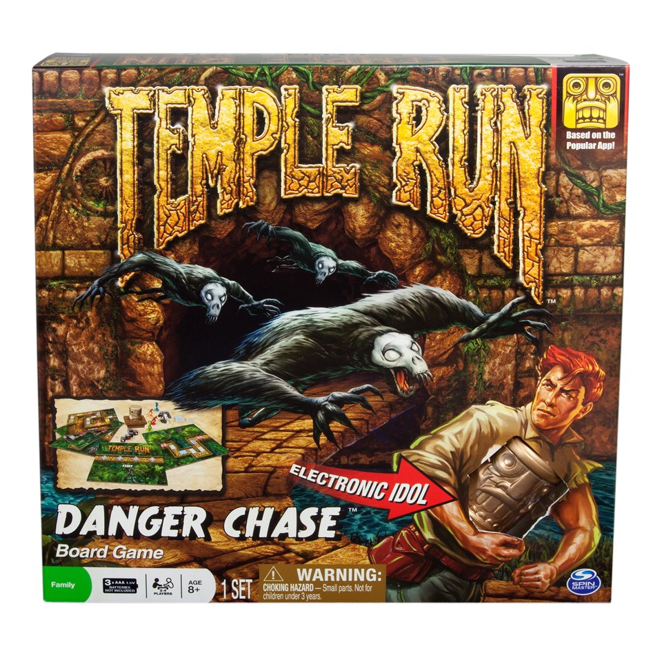 Temple Run board game Danger Chase