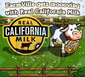 FarmVille Real California Milk