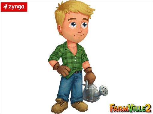 George Clooney FarmVille 2 screens