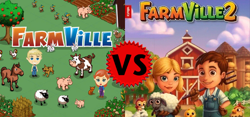 FarmVille vs FarmVille 2