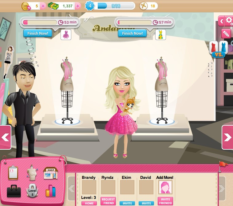 Mall World Fashion Designer Game