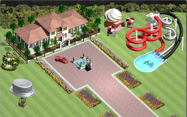 Monopoly millionaire mansions is hasbro 39 s take on facebook for Building our dream home blog