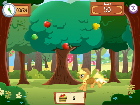 My Little Pony mobile screens