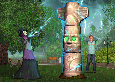 The Sims 3 Seasons Weather Stone
