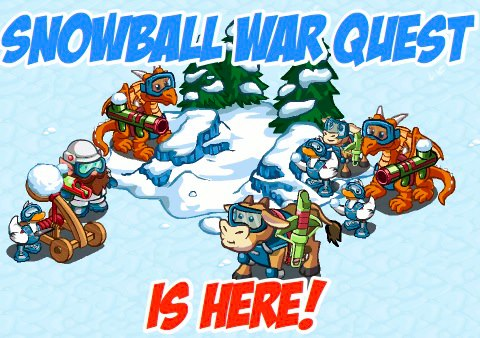 Snowball War Quest is here!