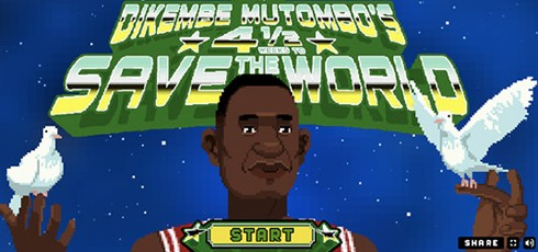 Dikembe Mutombo's 4 1/2 Weeks to Save the World