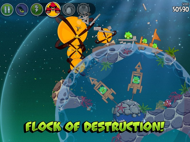 Angry Birds Space update guide