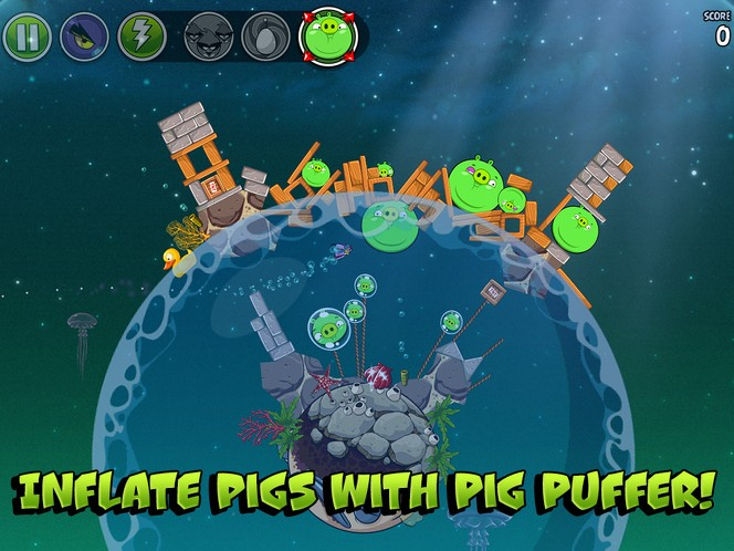Angry Birds Space Pig Dipper cheats