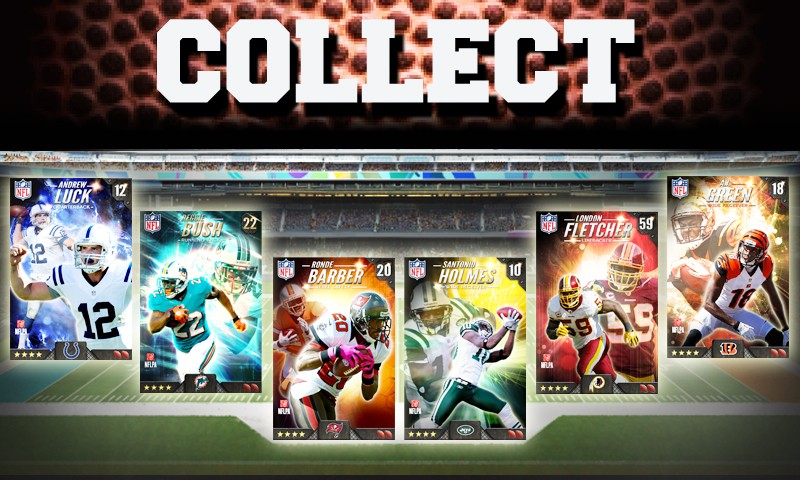 Football trading cards come to Android in DeNA's NFL