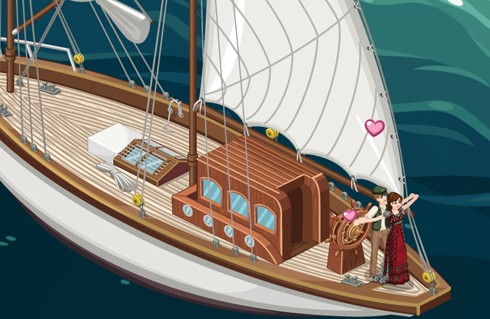 The Sims Social Unsinkable Love screens