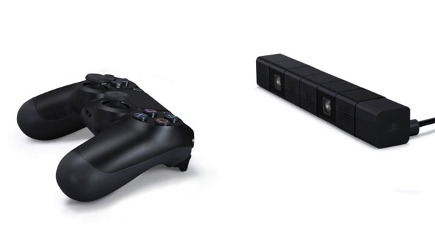 Sony PS4 controller and Eye camera