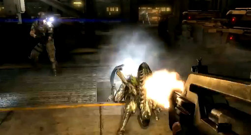 Aliens Colonial Marines screen shots