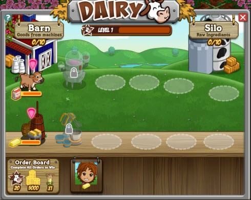 FarmVille Dairy Crafting images
