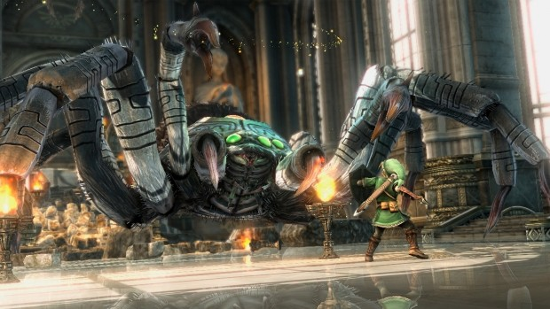 The Legend of Zelda Wii U screens