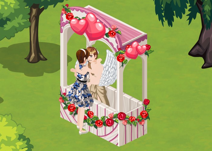 The Sims Social Romantic Garden guide