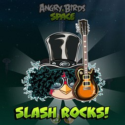 Angry Birds Space Slash