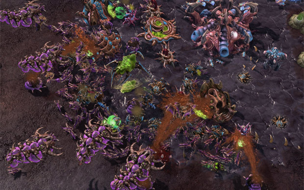 StarCraft 2 Heart of the Swarm cheats tips