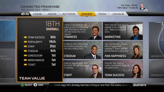 Madden 25 Owner Mode