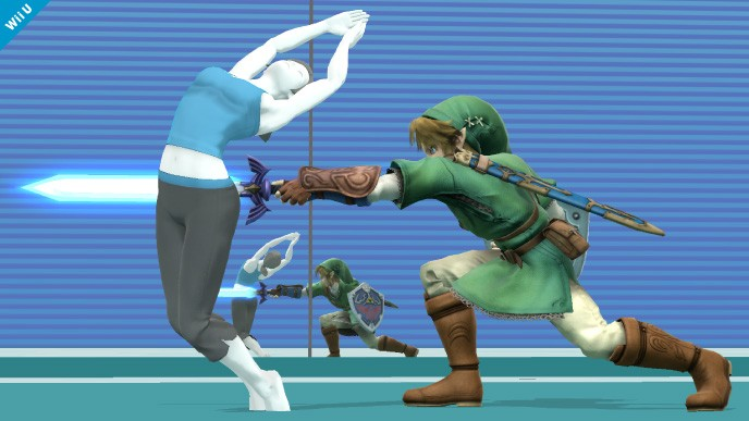 Super Smash Bros. - Wii Fit Trainer