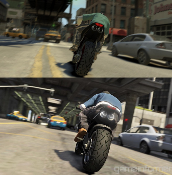 GTA IV vs. GTA V