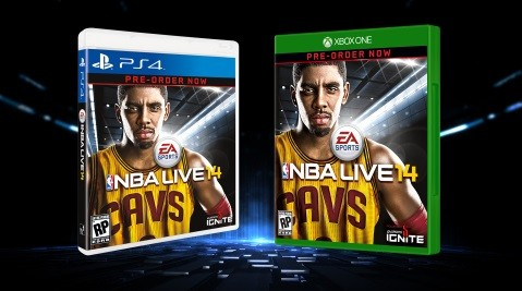 Kyrie Irving on NBA Live Cover