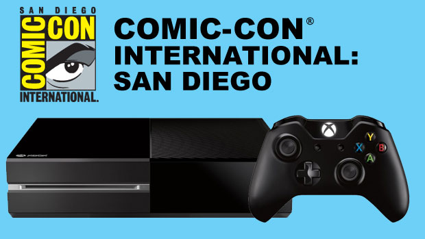 Xbox One at Comic Con