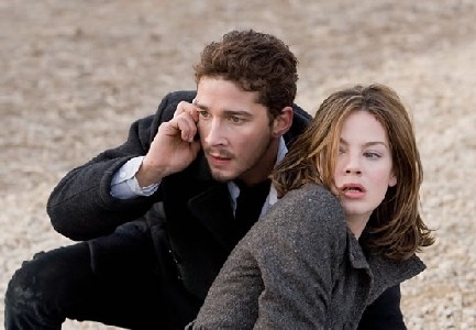 Shia and Michelle in Eagle Eye