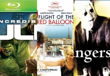 Incredible Hulk, Flight of the Red Balloon, The Strangers