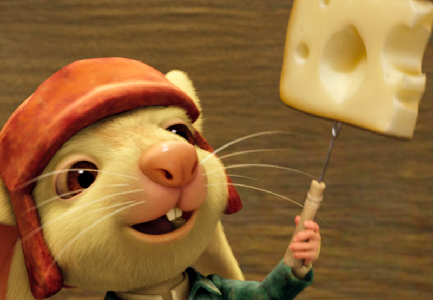 Despereaux, voiced by Matthew Broderick, in 'The Tale of Despereaux' (Universal)