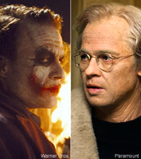The Dark Knight and Benjamin Button