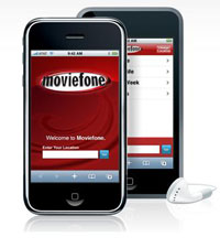 Moviefone iPhone app