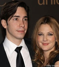 Justin Long and Drew Barrymore