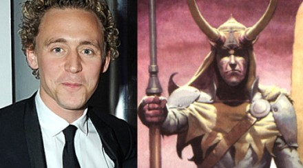 Tom Hiddleston will play Loki in Marvel's 'Thor'