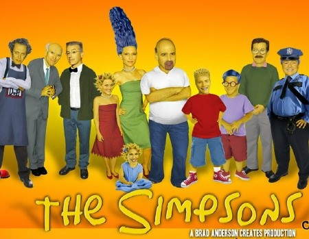 see what a live action simpsons movie would look like moviefone
