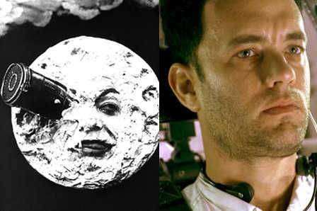 'A Trip to the Moon,' Tom Hanks in 'Apollo 13'
