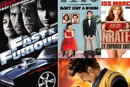 'Fast & Furious,' 'Bart Got a Room,' 'Miss March,' 'Dragonball: Evolution'