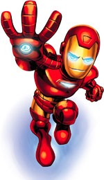 marvel super hero squad anime tv series iron man