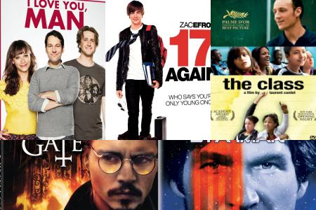 Spin-ematical: New on DVD for 8/11 (clockwise from upper left: 'I Love You, Man,' '17 Again,' 'The Class,' 'Starman,' 'The Ninth Gate')