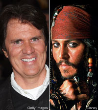 Rob Marshall and Johnny Depp