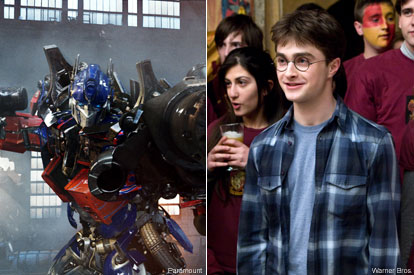 Transformers 2 and Harry Potter 6