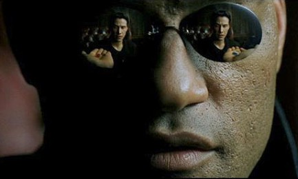 Laurence Fishburne in 'The Matrix'