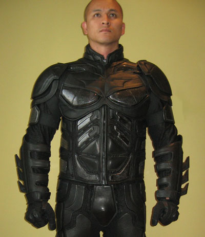 Dark Knight biker suit