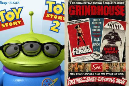 'Toy Story and Toy Story 2'; 'Grindhouse'