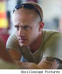 Ben Foster in The Messenger
