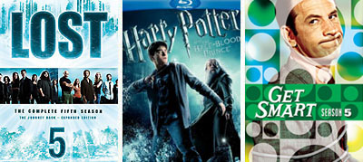 lost half blood prince get smart dvd