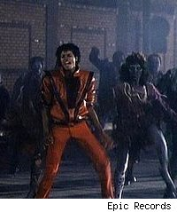 Michael Jackson 'Thriller' video