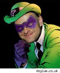 Andy Serkis as The Riddler